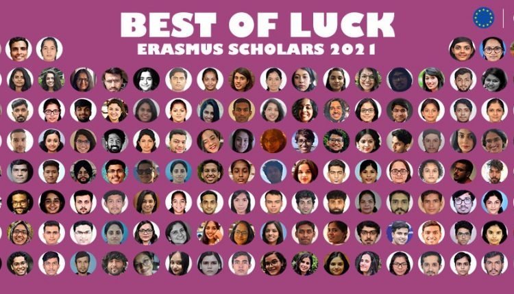 Over 150 Indian students win the Erasmus Mundus scholarships for higher education in Europe